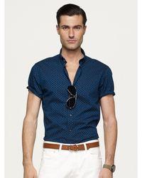 Ralph Lauren Black Label Short-sleeved Nigel Shirt - Lyst