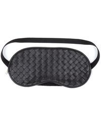 Bottega Veneta - Intrecciato Leather Eye Mask - Lyst