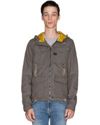 G-Star RAW Recolite Hooded Overshirt - Lyst