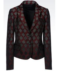 Emporio Armani Two Buttons Jacket - Lyst