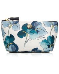 Tory Burch Printed Trapeze Cosmetic Case - Lyst