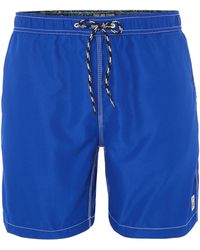 Duck and Cover - Swenson Drawstring Swimming Shorts - Lyst