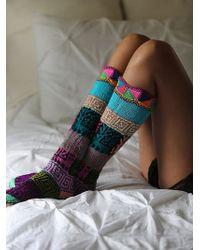 Ariana Bohling - Womens Lounge Around Slipper Sock - Lyst
