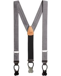 Brooks Brothers - Houndstooth Suspenders - Lyst