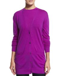 Pink Pony - Button-front Cashmere Cardigan - Lyst