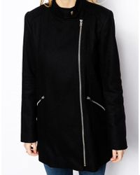 Oasis Fashion Biker Coat - Lyst