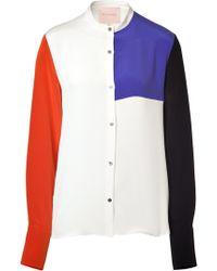 Roksanda Ilincic Silk Phia Shirt - Lyst
