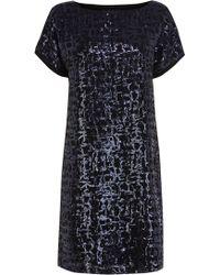 Coast Uriah Sequin Dress - Lyst