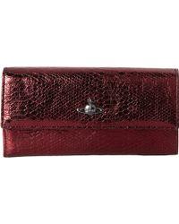 Vivienne Westwood Boke Long Wallet - Lyst