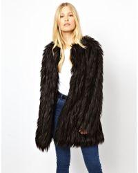 Urbancode Faux Fur Coat - Lyst