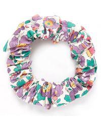 Liberty - Purple Betsy Scrunchie - Lyst