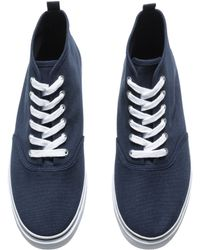 H&M Blue Sneakers - Lyst