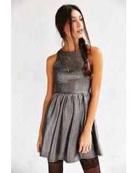 Kimchi Blue - Shimmer Fit + Flare Dress - Lyst