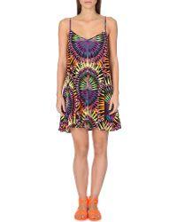 Mara Hoffman Geometric-Print Strappy Swim Dress - For Women - Lyst