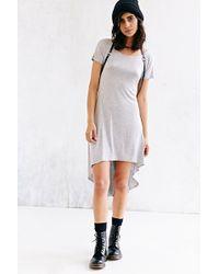 Sparkle & Fade - Highlow T-Shirt Dress - Lyst