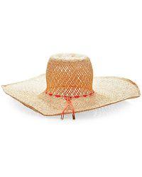 Basta Surf Tina Handwoven Straw Hat - Lyst