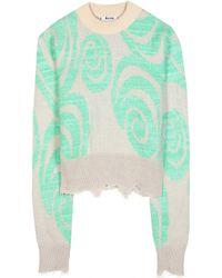 Acne Studios Gaze Wool-Blend Sweater - Lyst