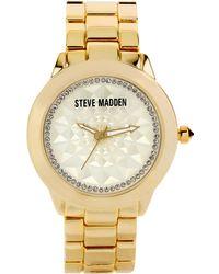 Steve Madden | Womens Goldtone Bracelet 40mm 09 | Lyst