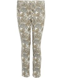 Uniqlo | Angelica Garla Printed Cropped Legging Trousers | Lyst