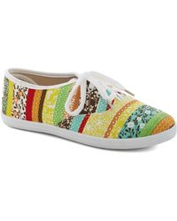 ModCloth Lets Get Easygoing Sneaker in Multi - Lyst