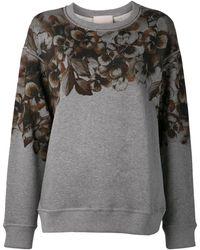 Jason Wu - Floral Print Sweatshirt - Lyst