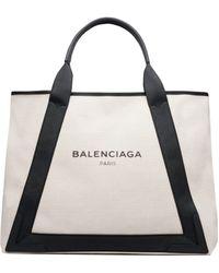 Balenciaga | Navy Cabas M | Lyst