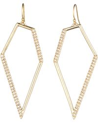 Alexis Bittar Pave Kite Drop Earring gold - Lyst