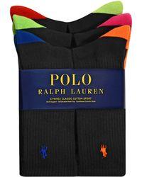 Polo Ralph Lauren Multicolor Crew Sock Set - Lyst