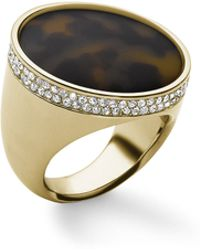 Michael Kors - Pave Tortoise Dome Ring - Lyst