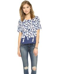 Paul & Joe Sister Les Filous Top  Navy - Lyst