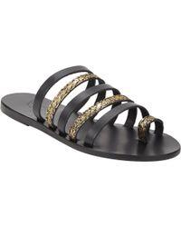 Ancient Greek Sandals Niki Strappy Flat Sandals - Lyst