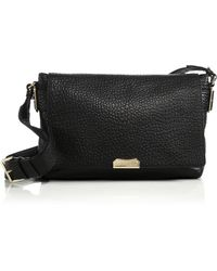 Burberry Lockford Medium Crossbody Bag black - Lyst