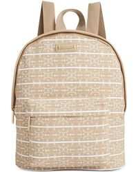 Rampage - Printed Canvas Backpack - Lyst