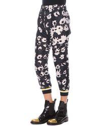 Marni Bethany Elastic-waist Cuffed Printed Pants - Lyst