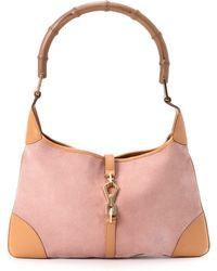 Gucci Pink Jackie Shoulder Bag - Lyst