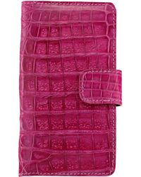 Anne Sisteron - Crocodile Iphone 6 Case - Pink - Lyst