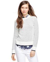 Brooks Brothers Supima Cotton Sweater - Lyst