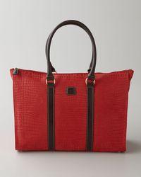 Bric's Red Verona Shopper - Lyst