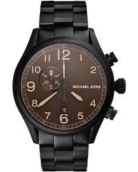 Michael Kors Hangar Three-hand Watch - Lyst
