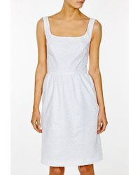 Issa White Dress with Thin Straps - Lyst