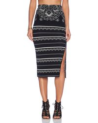 Free People Irreplaceable Pencil Skirt - Lyst