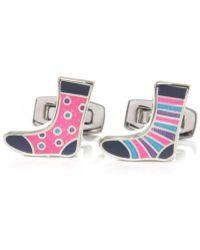 Duchamp Sock Cufflinks - Lyst