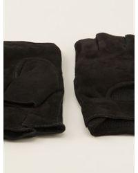 John Varvatos - Fingerless Gloves - Lyst