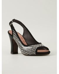 Chie Mihara Sling Back Sandals - Lyst