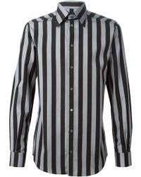 Dolce & Gabbana Striped Shirt - Lyst