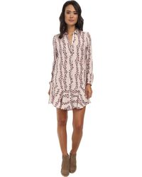 Free People Button Down Shirtdress - Lyst