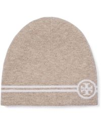 Tory Burch - Reversible Striped Hat - Lyst