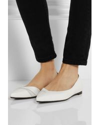 McQ by Alexander McQueen Ada Punk Leather Pointtoe Flats - Lyst