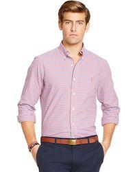 Polo Ralph Lauren Checked Oxford Shirt - Lyst