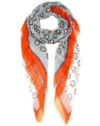 Anya Hindmarch - Weather Printed Scarf - Lyst